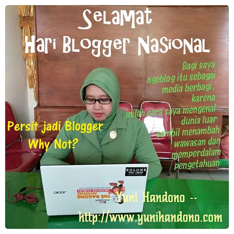 Selamat Hari Blogger Nasional, Ngeblog Sebagai Media Berbagi