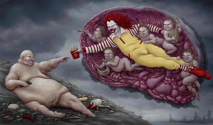 These Powerful Art Illustrations Show How Backwards Society Really Is!