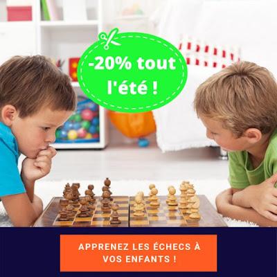 Offre spéciale pour apprendre à jouer aux échecs en vidéo