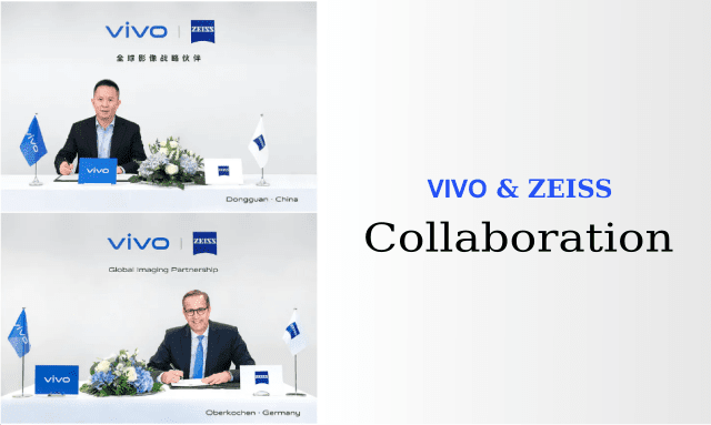 Vivo and Zeiss collaboration for future camera technology