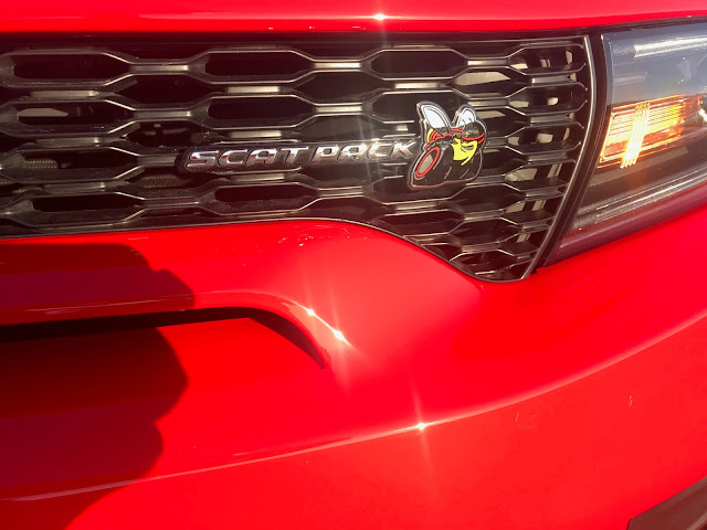 Grille badge on 2020 Dodge Charger R/T Scat Pack Plus