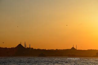Atardecer, Estambul