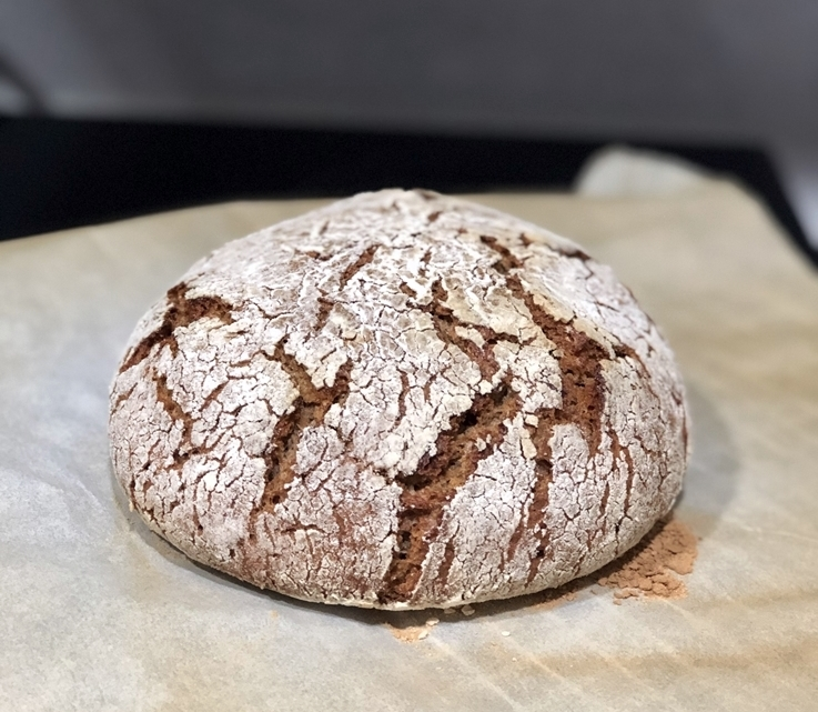 Pan de centeno integral