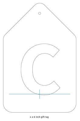 Quiling Letter C Free Tutorial Pattern Template