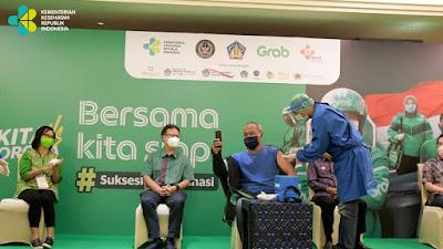 Gandeng Grab dan Good Doctor Indonesia, Kemenkes Gelar Vaksinasi Massal Covid-19