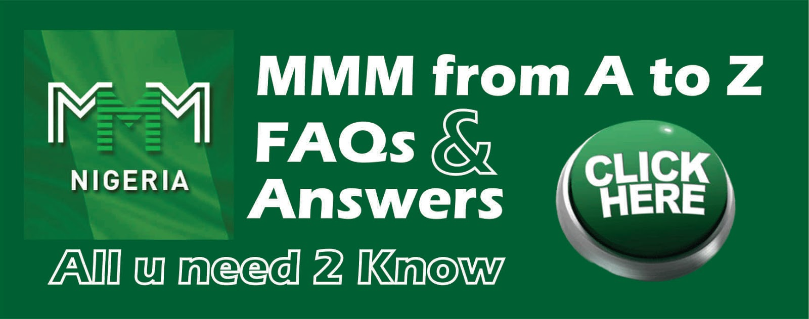 The Truth, Lies and Facts Behind MMM Nigeria