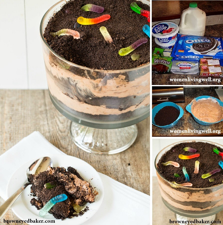 Creative Recipes Collection!: Dirt Cake With Worms