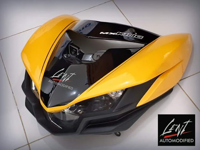 Body Kit Terbaru Lent Automodify MX King 150