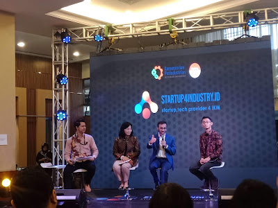 Kemenperin Gelar Start Up 4 Industry dan Smart Manufacturing Pada Semarak Festival IKMA 2019
