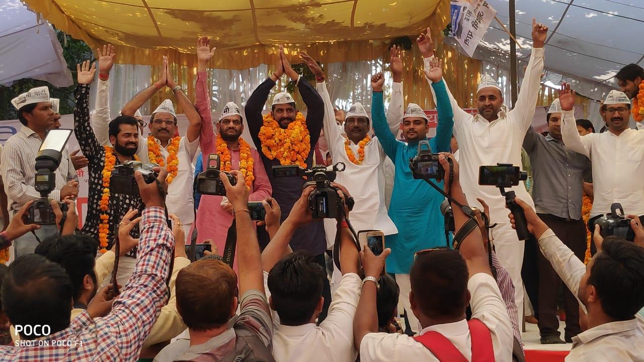 कटोरा आन्दोलन होगा खट्टर सरकार के खिलाफ : नवीन जयहिंद
