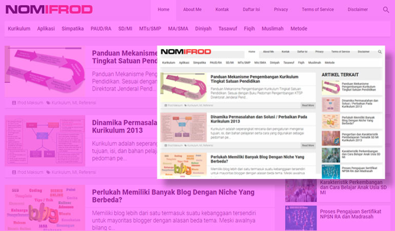 Gabungan Template Kompi Flexible Dengan Kompi Magazine