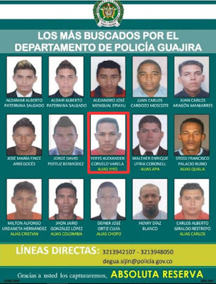 https://www.notasrosas.com/Policía Nacional Publica Cartel De Los Más Buscados En La Guajira
