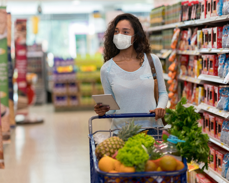 There's Only One Way to Contract COVID-19 When Grocery Shopping, CDC Says