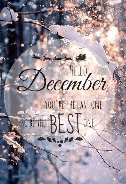 imagini pentru hello december