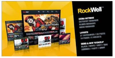 Rockwell WP Magazine Theme