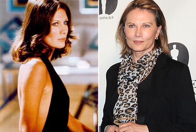 Fotografías de las chicas Bond antes y ahora