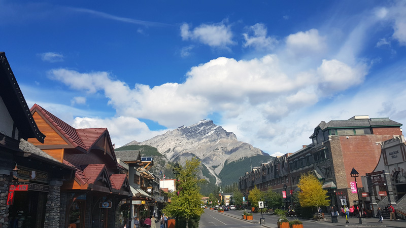 When to visit Banff