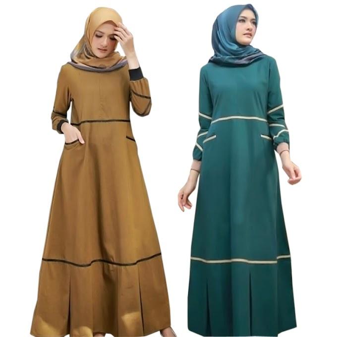 5 Rekomendasi Brand Baju Gamis Terbaru untuk Lebaran