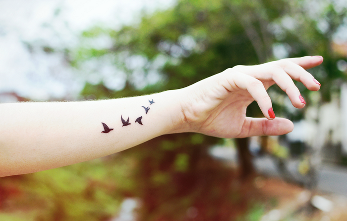 tatuagens, tattoos, tatuagem, significado, significados, o que significa, modinha, tatuagens modinha, tatuagens que todo mundo faz, inspirações, tatuagens lindas, andorinhas, passarinhos, filtro dos sonhos, cervo, harry potter, potterhead, veado