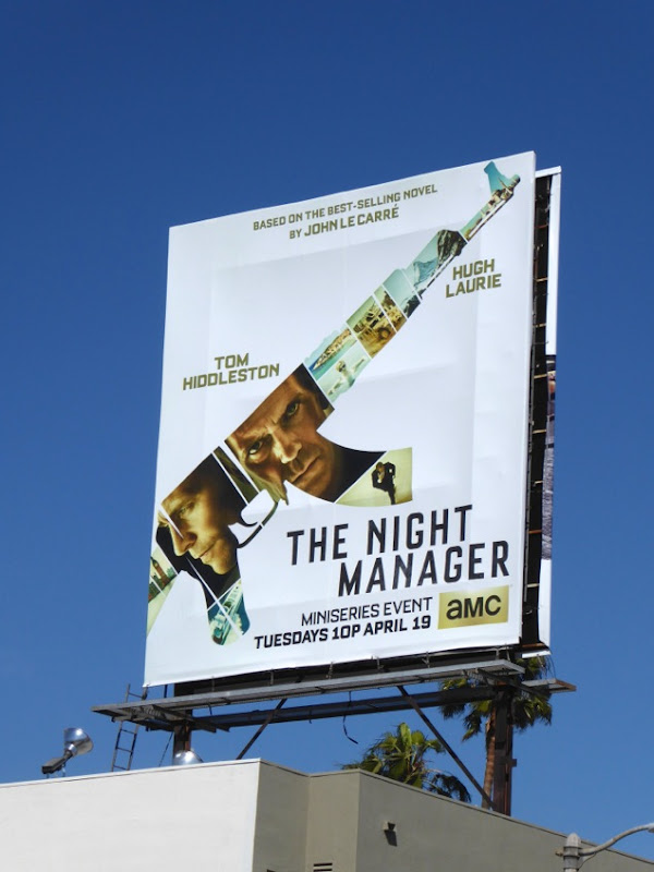 Night Manager series billboard