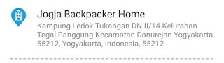 review jogja backpakcer home