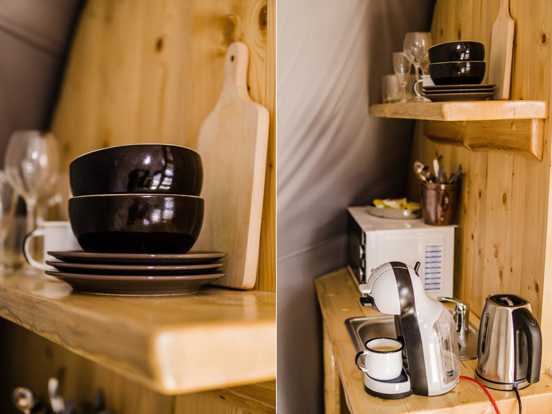 Luxurious glamping in Poland