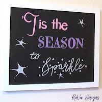 loddie doddie magnetic chalkboard sign christmas winter holidays ideas