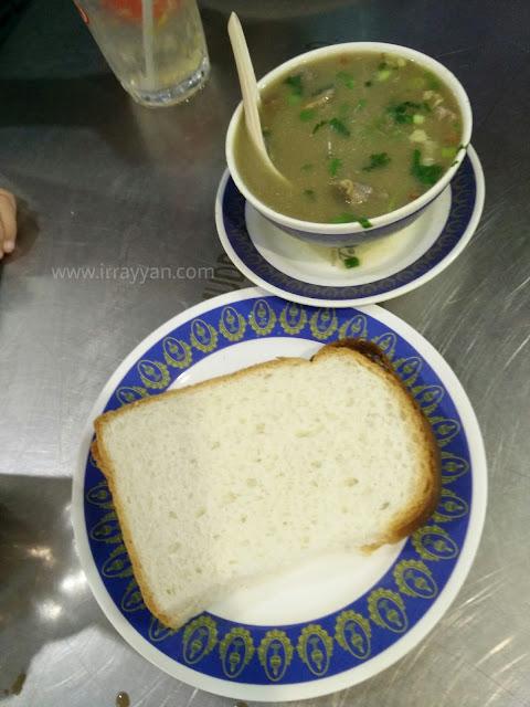 Suamiku mengidam Sup kambing