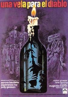 Poster de Una vela para el diablo