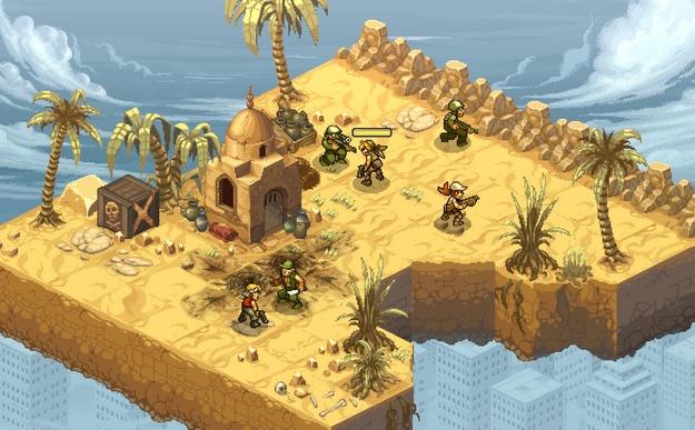 Metal Slug Tactics - tactical RPG with roguelike elements
