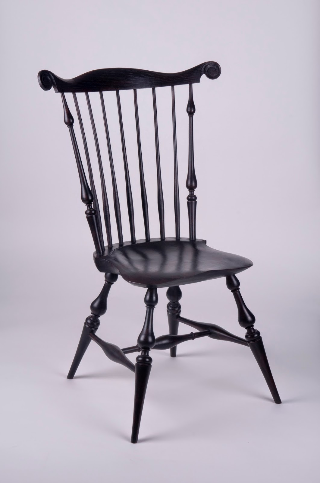 Fan Back Chair Caleb James Chairmaker Planemaker Fan Back Windsor Chair