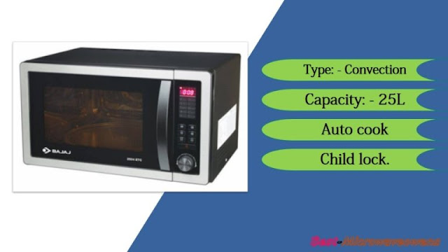 Bajaj 2504 ETC / best microwave oven