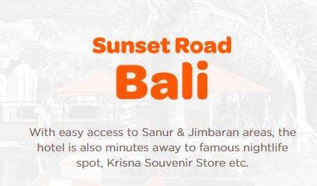 Sunset Road Bali