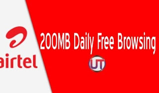 Airtel 200MB Daily Free Browsing