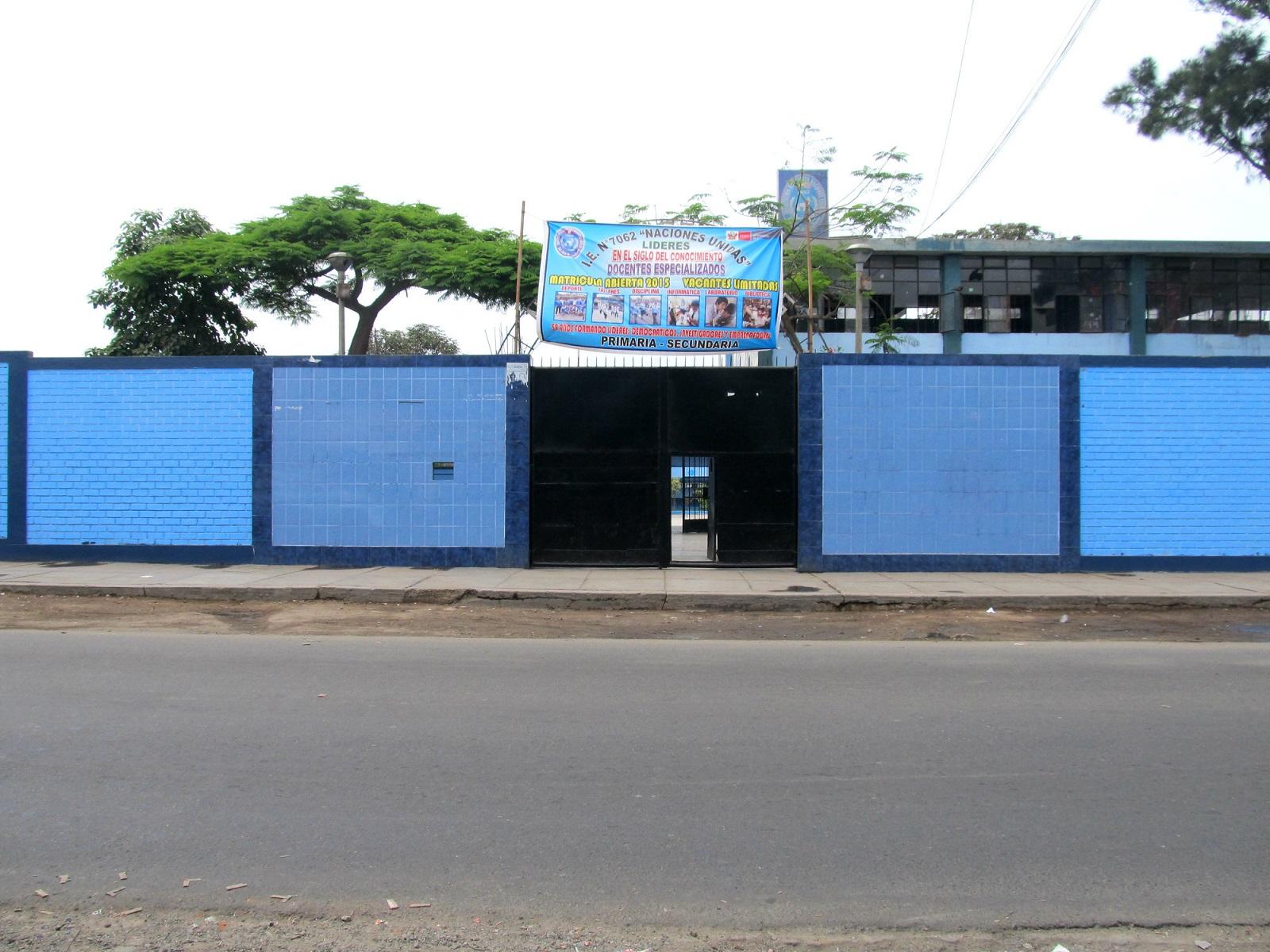 Colegio 7062 NACIONES UNIDAS - San Juan de Miraflores