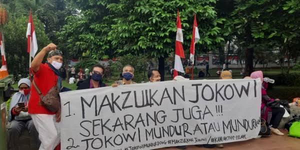 Beredar Rencana Aksi Pemakzulan Jokowi, BEM SI: Bukan dari Kami