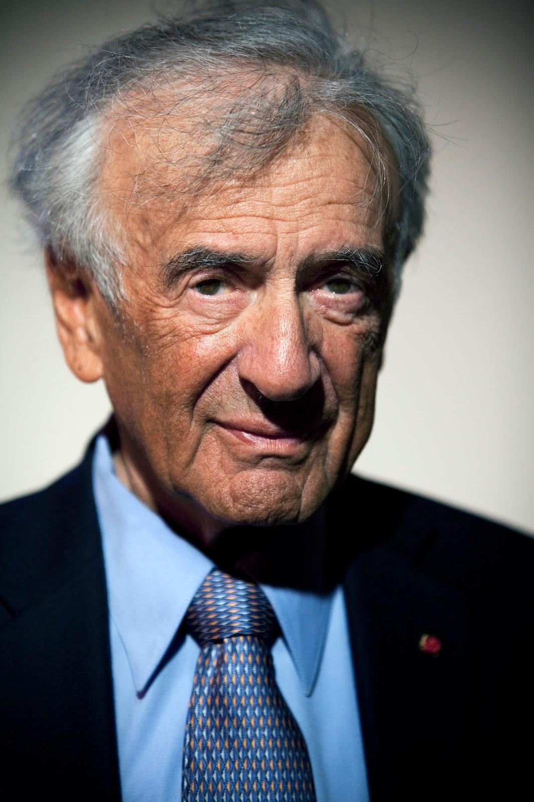 Abu Pessoptimist Elie Wiesel De Holocaust Overlevende Van Zijn Voetstuk Viel