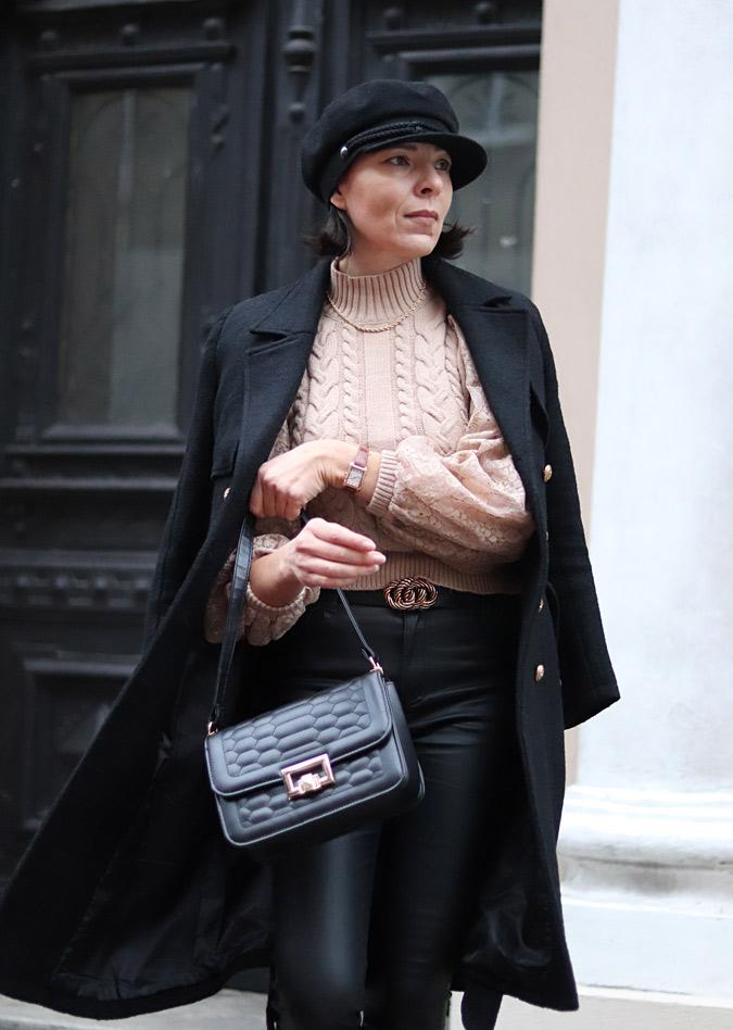 bluzka z szerokimi rękawami stylizacje