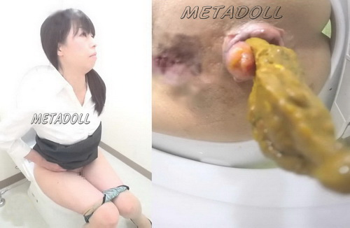[SL-119]Attractive girls peeing and shitting in the office toilet room