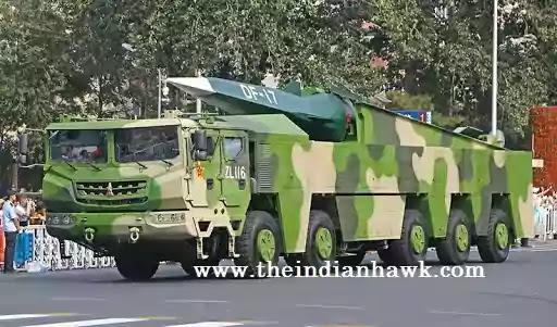 DF-17 ballistic missiles