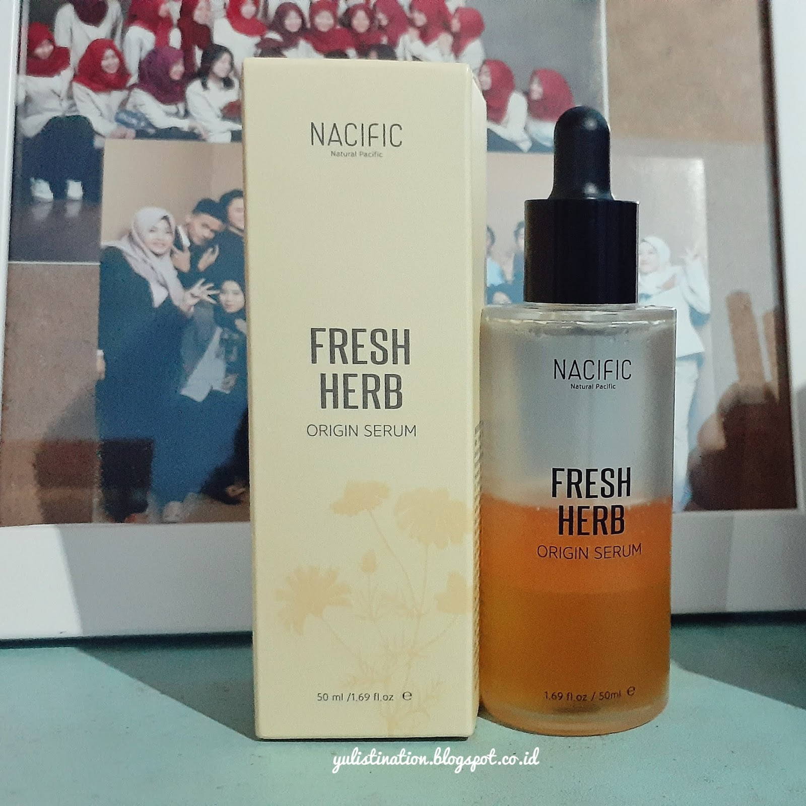Review Natural Pacific Nacific Fresh Herb Origin Serum The