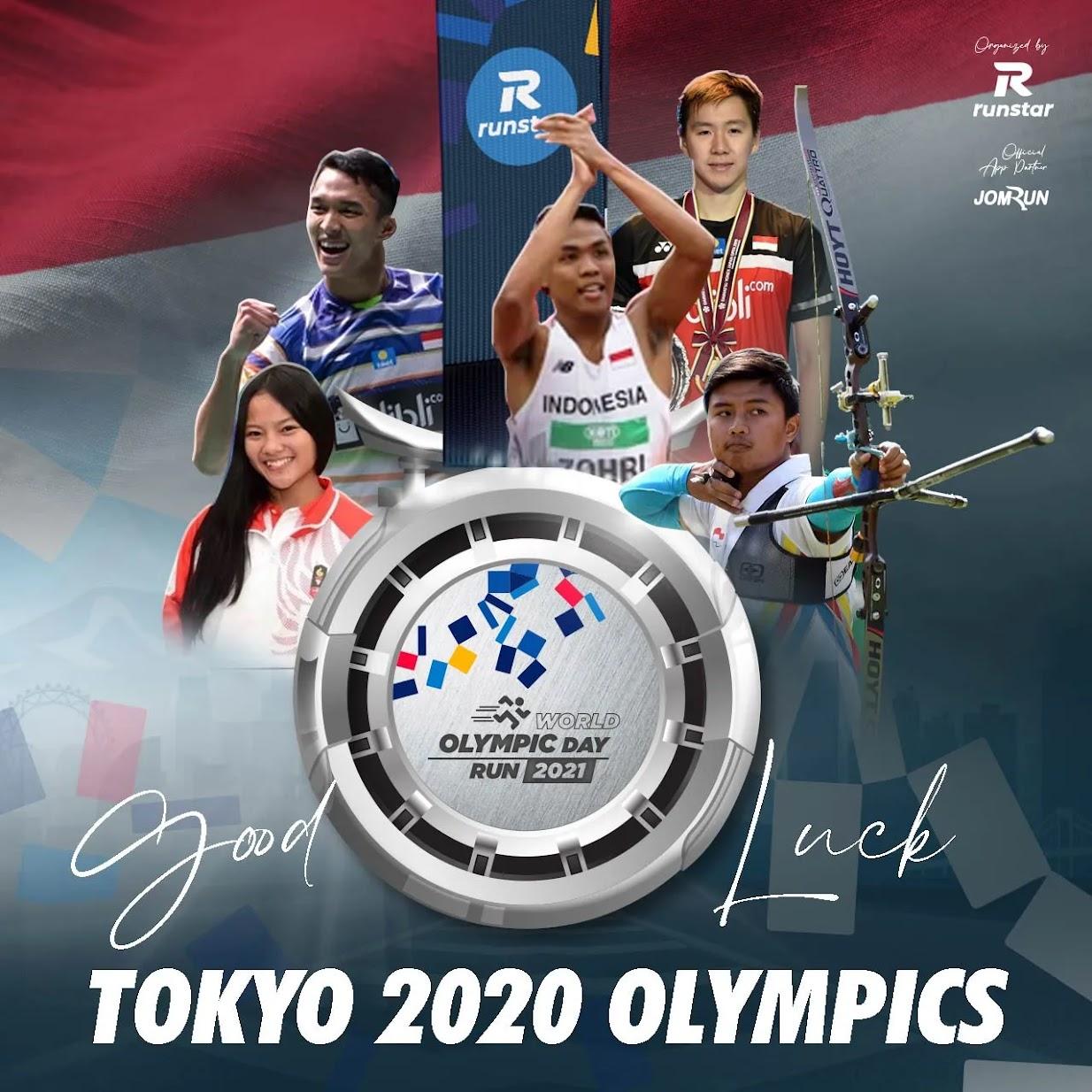 World Olympic Day Virtual Run • 2021
