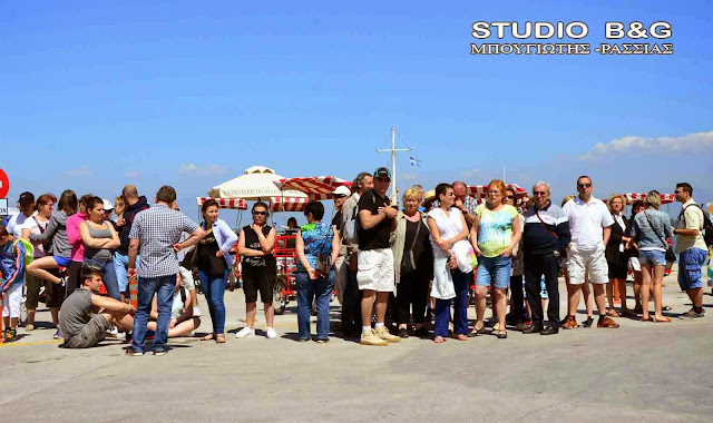 40% μειώθηκαν οι αφίξεις επιβατών κρουαζιερόπλοιων στο Ναύπλιο το 2019