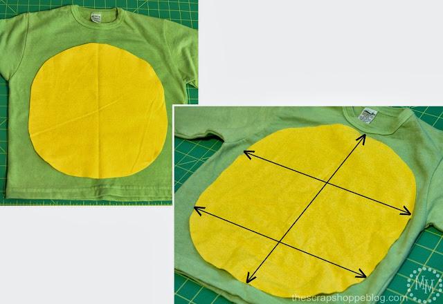 sewing Ninja Turtle costumes