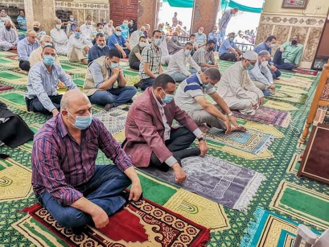 محافظ البحيرة إفتتاح مسجدين جديدين بتكلفة ٤ مليون جنية بدمنهور والنوبارية .