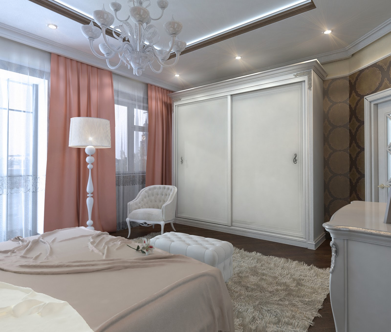 Art Deco Style Bedroom 3d Design Bedroom Art Deco