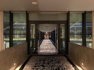 Walkway to the Executive Lounge, JW Marriott Singapore Beach Road, 2021