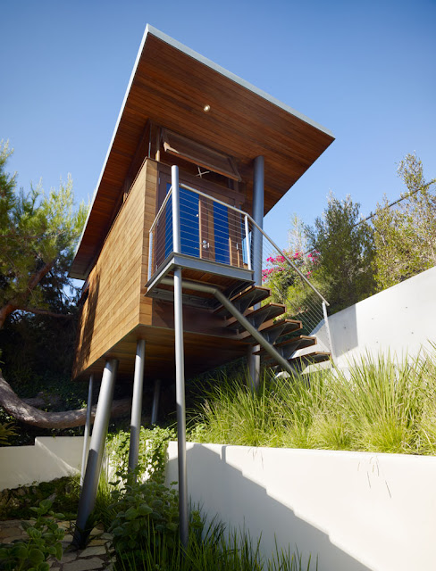 Маленький уютный дом на дереве, Лос Анжелес, Калифорния