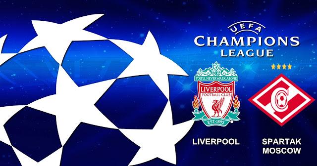 Prediksi Pertandingan Liverpool vs Spartak Moscow 7 Desember 2017