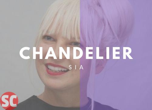Chandelier Guiatar chords - Sia